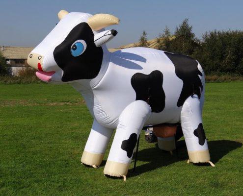 Hinchable Ordeña la vaca