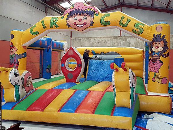 Castillo Hinchable Circus