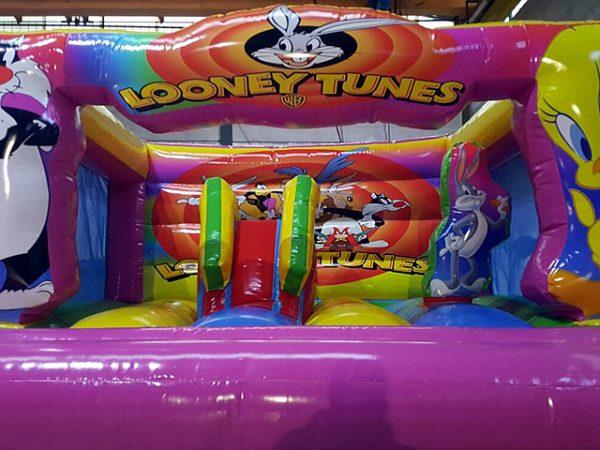 Tobogán Castillo Hinchable Looney Tunes