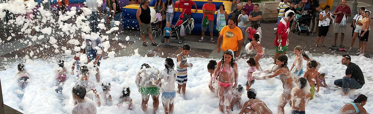 La gran fiesta de la espuma